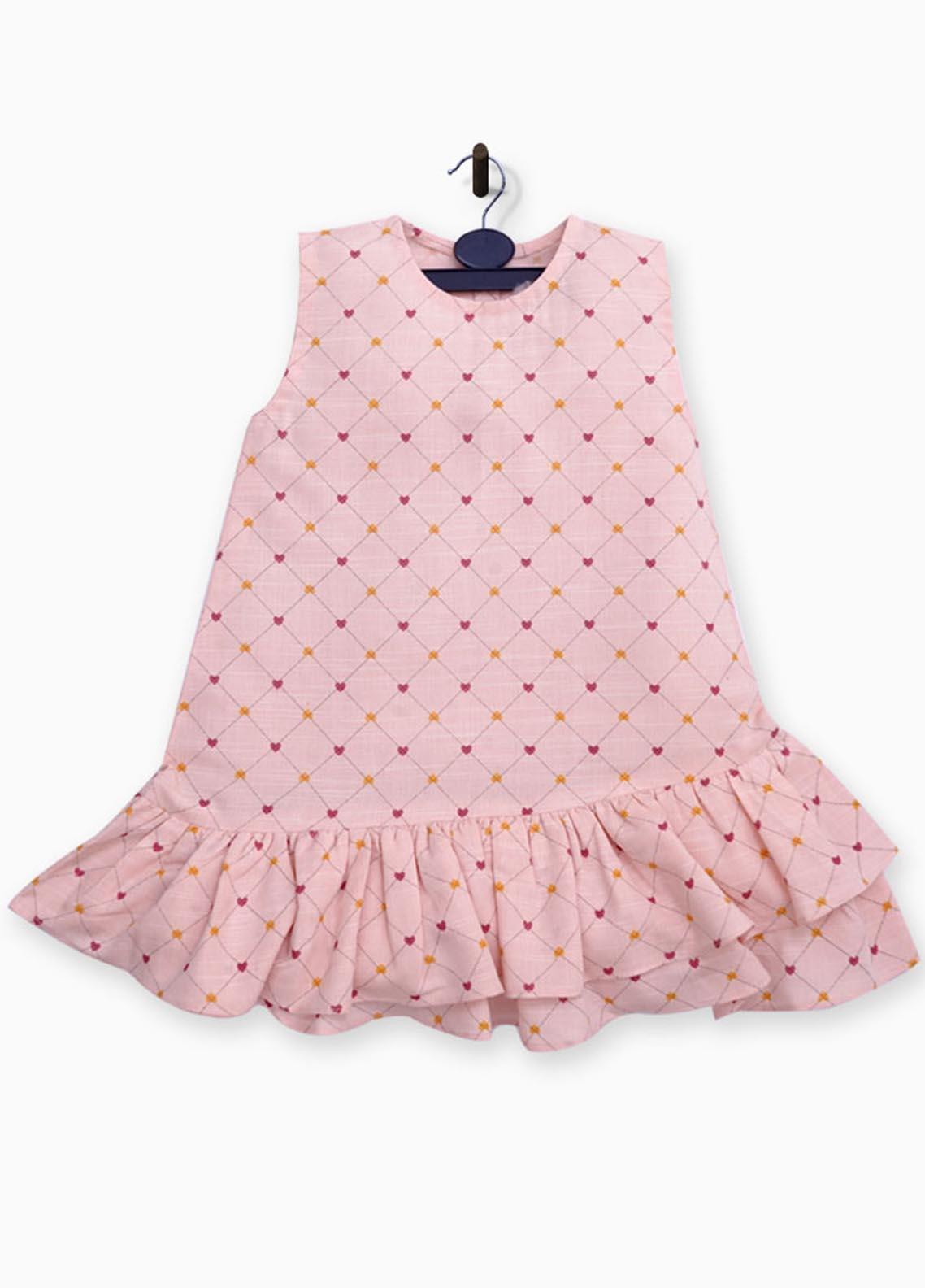 Kids Polo Cotton Fancy Girls Frocks -  GWSK20218