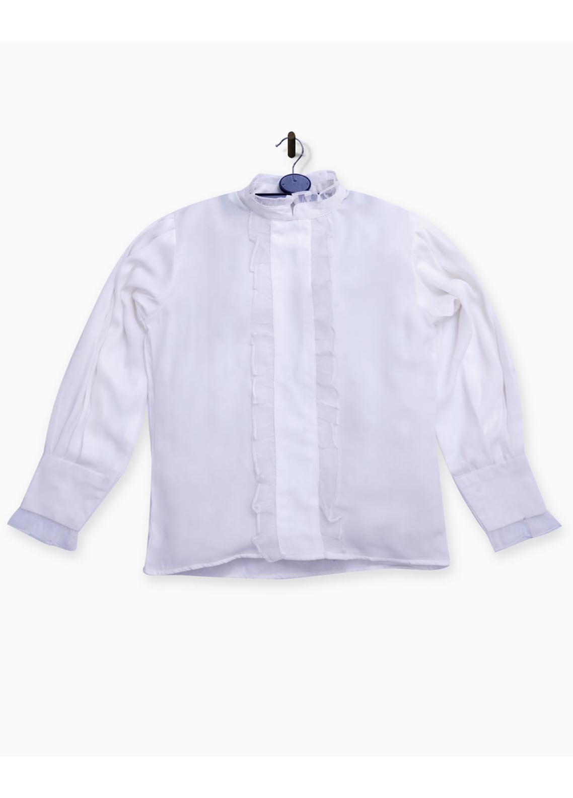 Kids Polo Crepe Fancy Girls Shirts -  GWWK20201