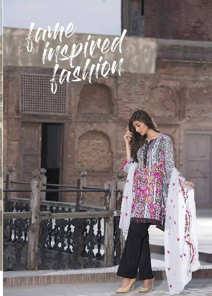 Kalyan By ZS Embroidered Lawn Unstitched 3 Piece Suit KL17D 10A