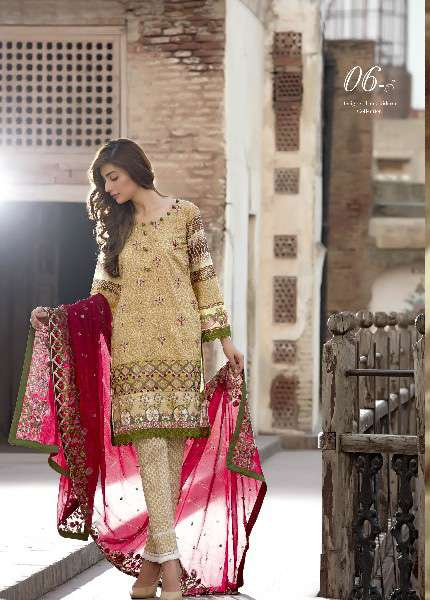 Kalyan By ZS Embroidered Lawn Unstitched 3 Piece Suit KL17D 6B
