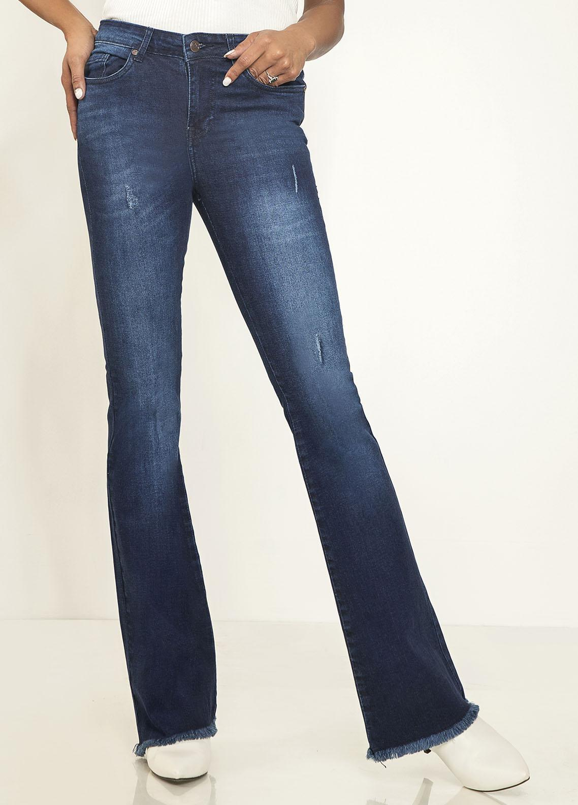 Kross Kulture Perfect Curves Denim Jeans KWA-20-001 DGO