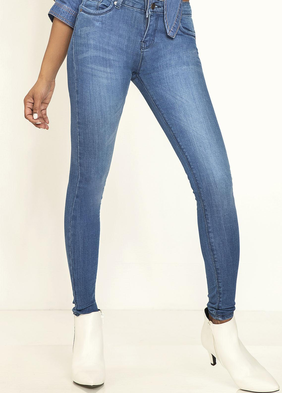 Kross Kulture Perfect Curves Denim Jeans KWA-20-004 MBU