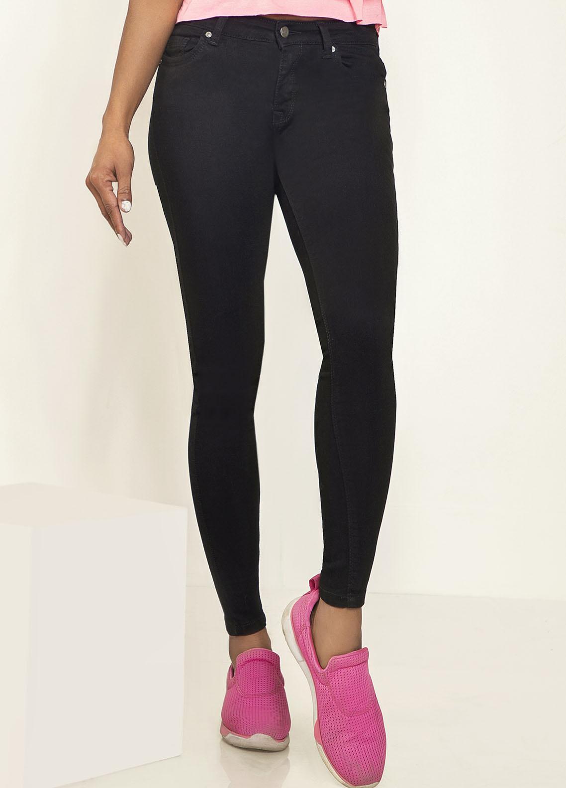 Kross Kulture Perfect Curves Denim Jeans KWA-20-006 BLK