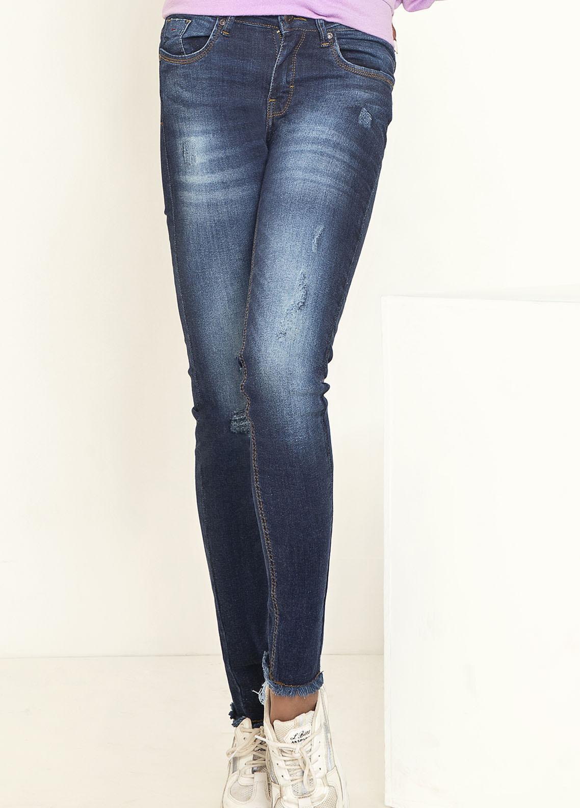 Kross Kulture Perfect Curves Denim Jeans KWA-20-008 DGO