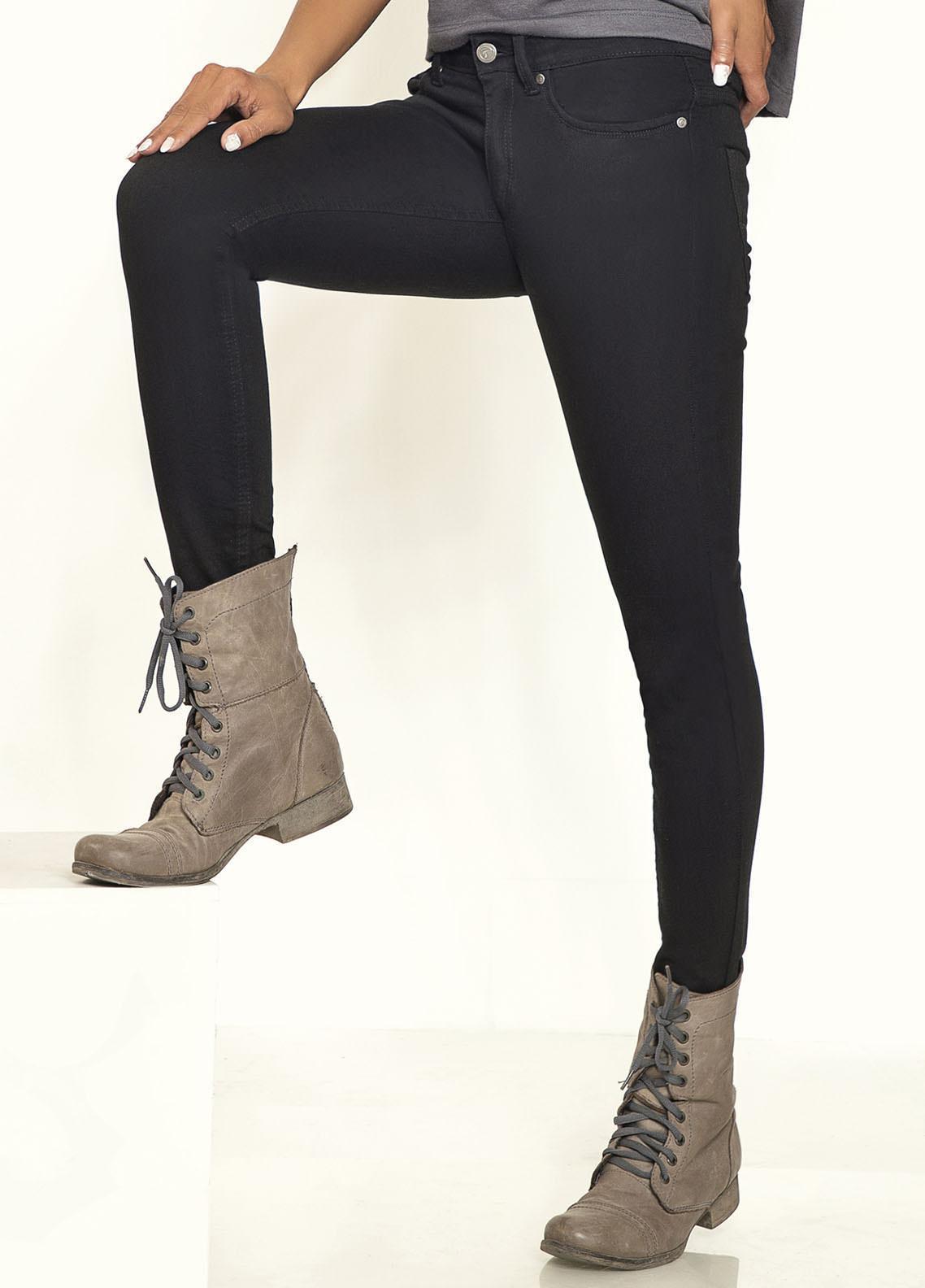 Kross Kulture Perfect Curves Denim Jeans KWA-20-009 BLK