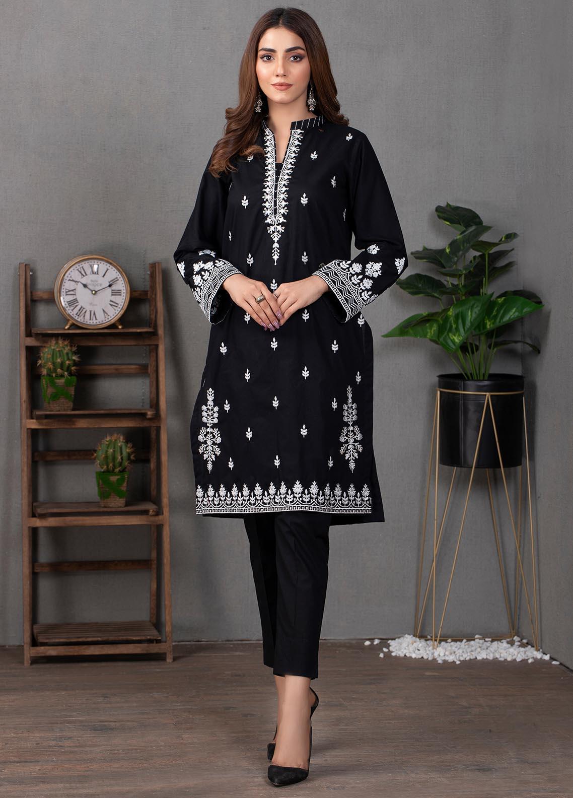 Lakhany Pret Embroidered  Cotton Kurties LSM21EB LSM-2203