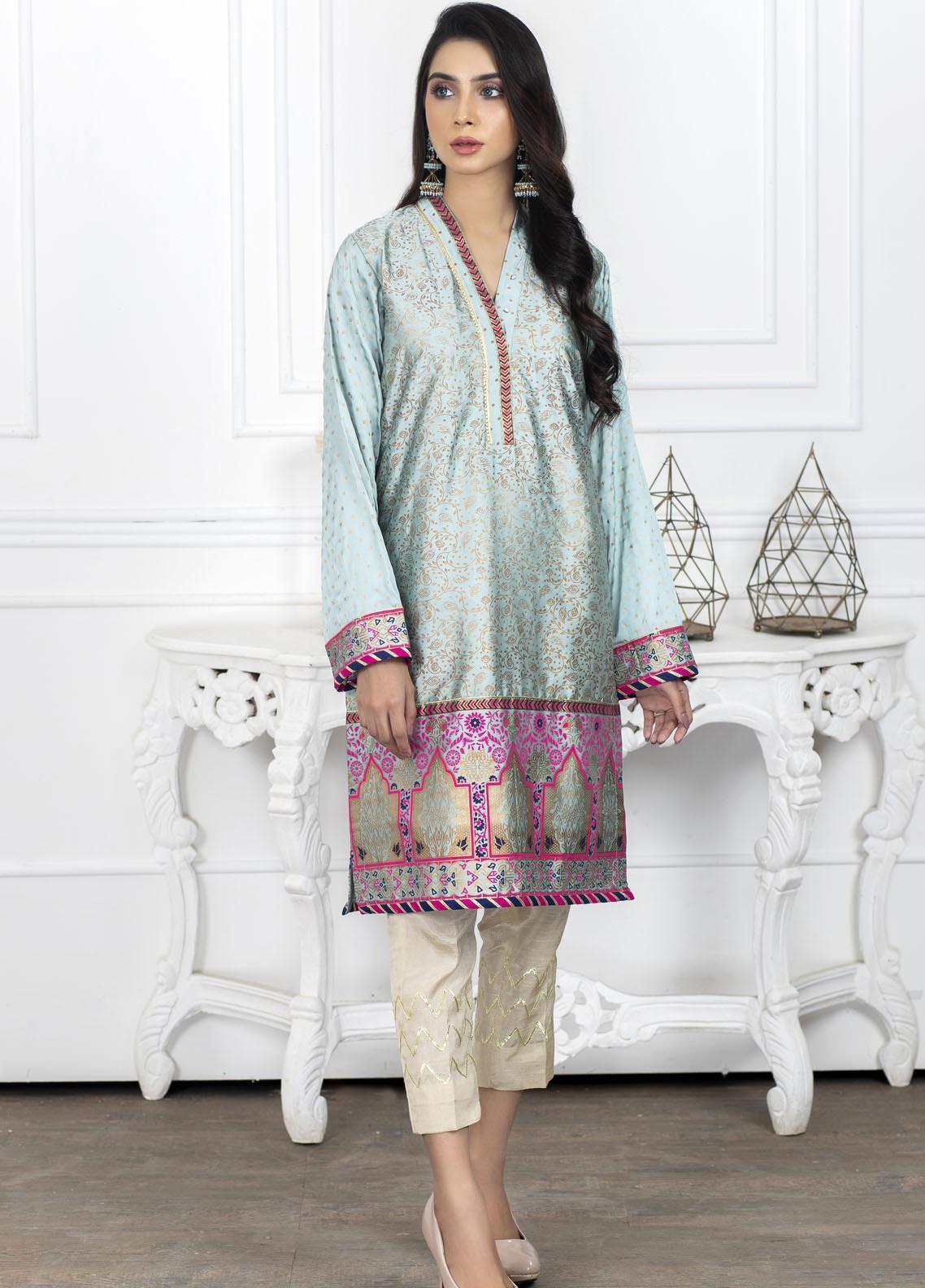 Lakhany Block Print Silk Stitched Kurtis LSM20BP LSM-2015