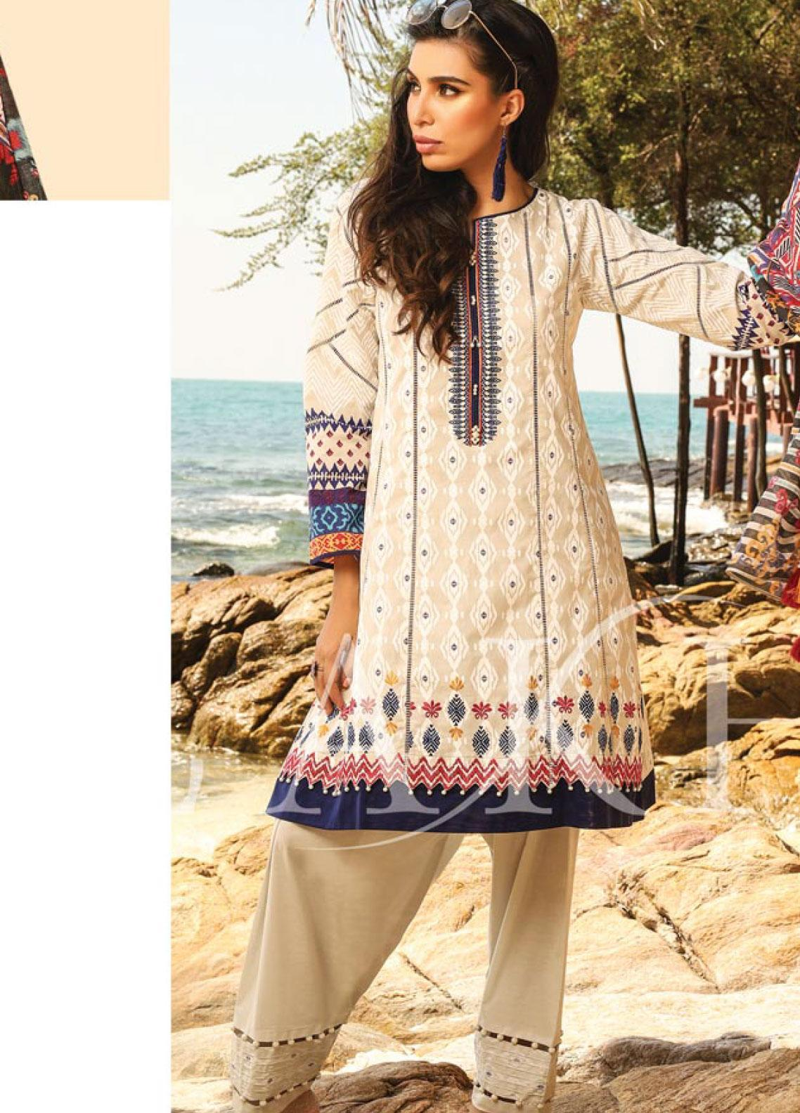 Lakhany Embroidered Lawn Unstitched 3 Piece LSM20SS 2034 - Summer Collection