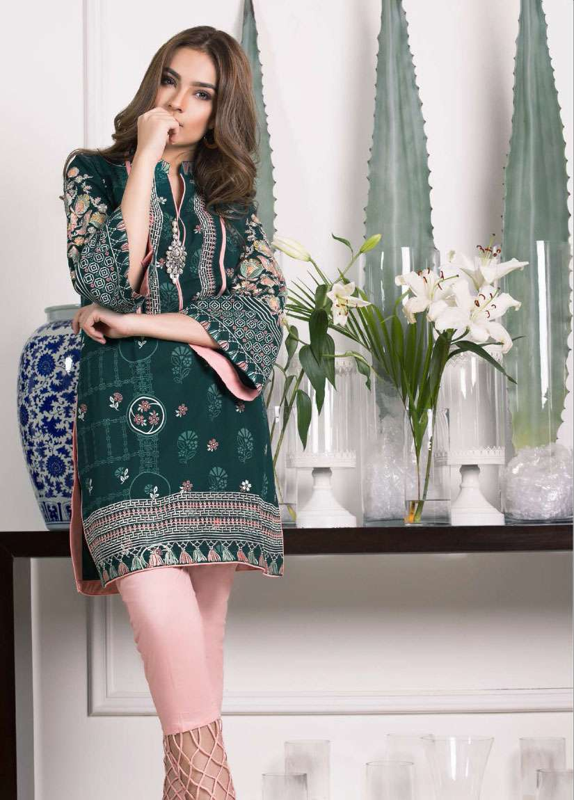 Lakhani Embroidered Pashmina Unstitched Kurtis LSM17I 111B