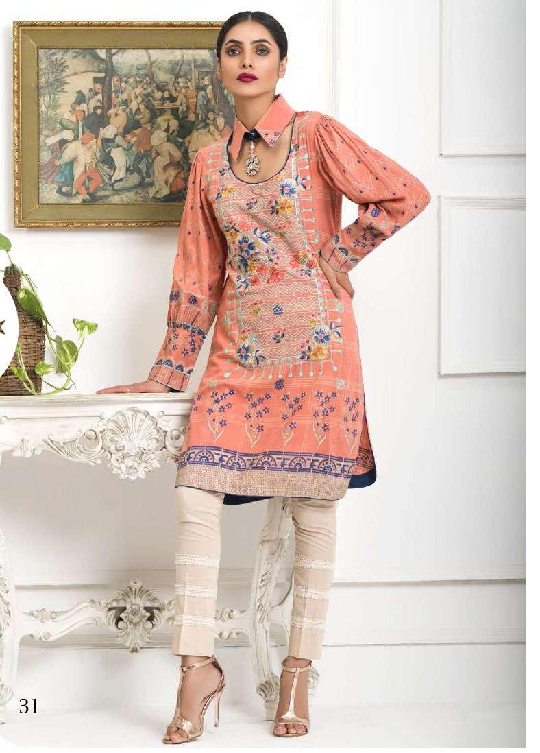 Lakhani Embroidered Pashmina Unstitched Kurtis LSM17I 113C