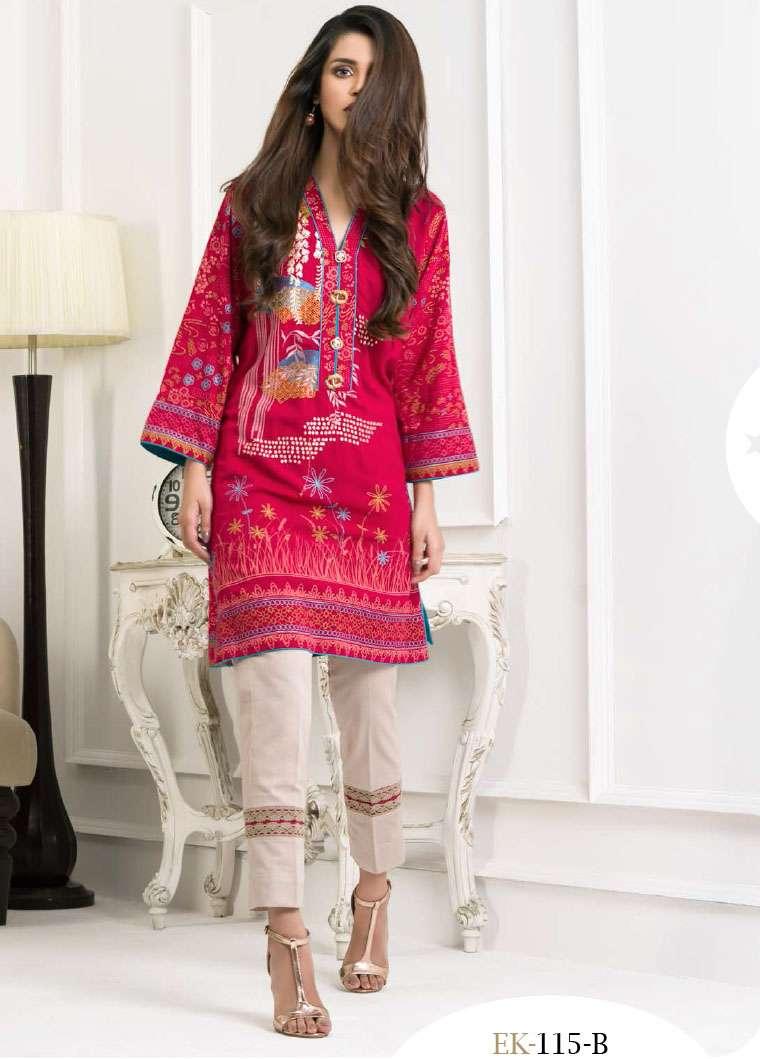 Lakhani Embroidered Pashmina Unstitched Kurtis LSM17I 115B