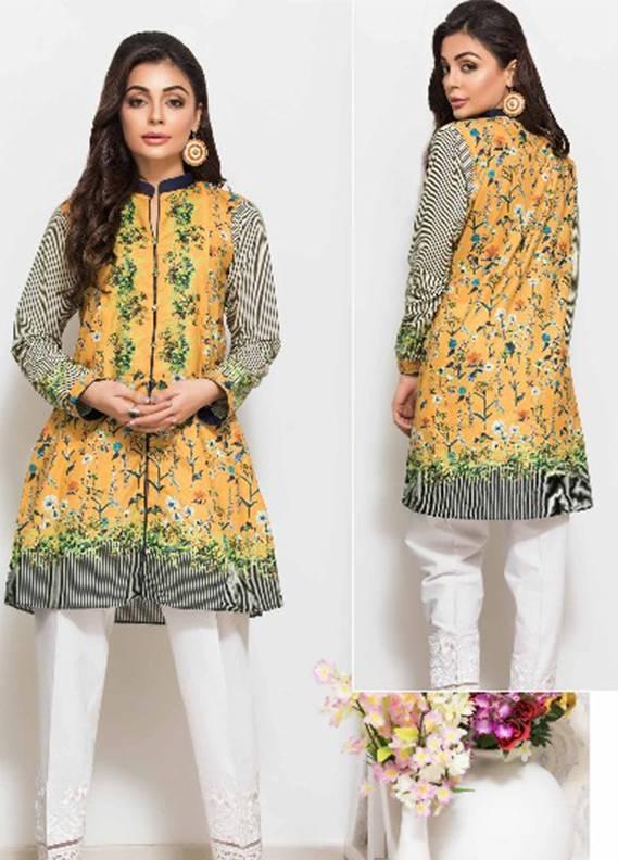 Maira Ahsan Printed Cotton Unstitched Kurtis MA17W2 02