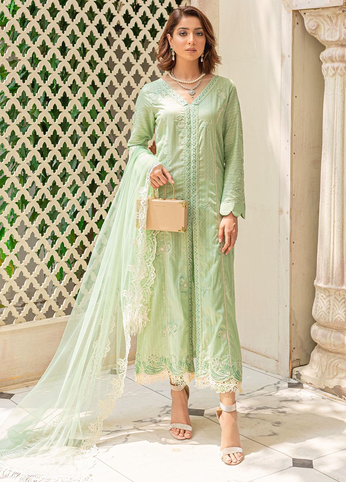 Mehak Yaqoob Pret Formal Lawn 3 Piece Suit MY21M ELNARA