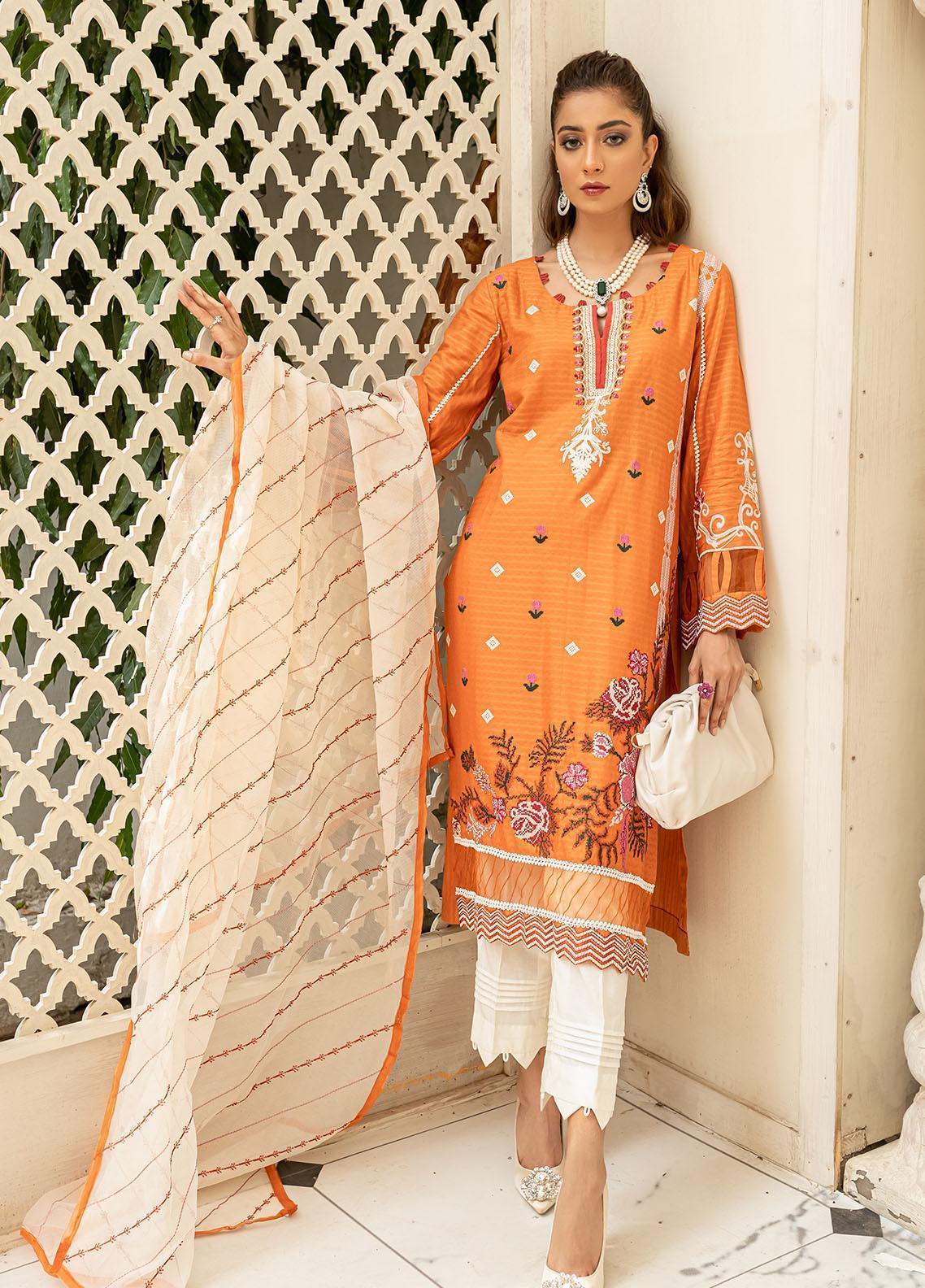 Mehak Yaqoob Pret Formal Lawn 3 Piece Suit MY21M KAIRA