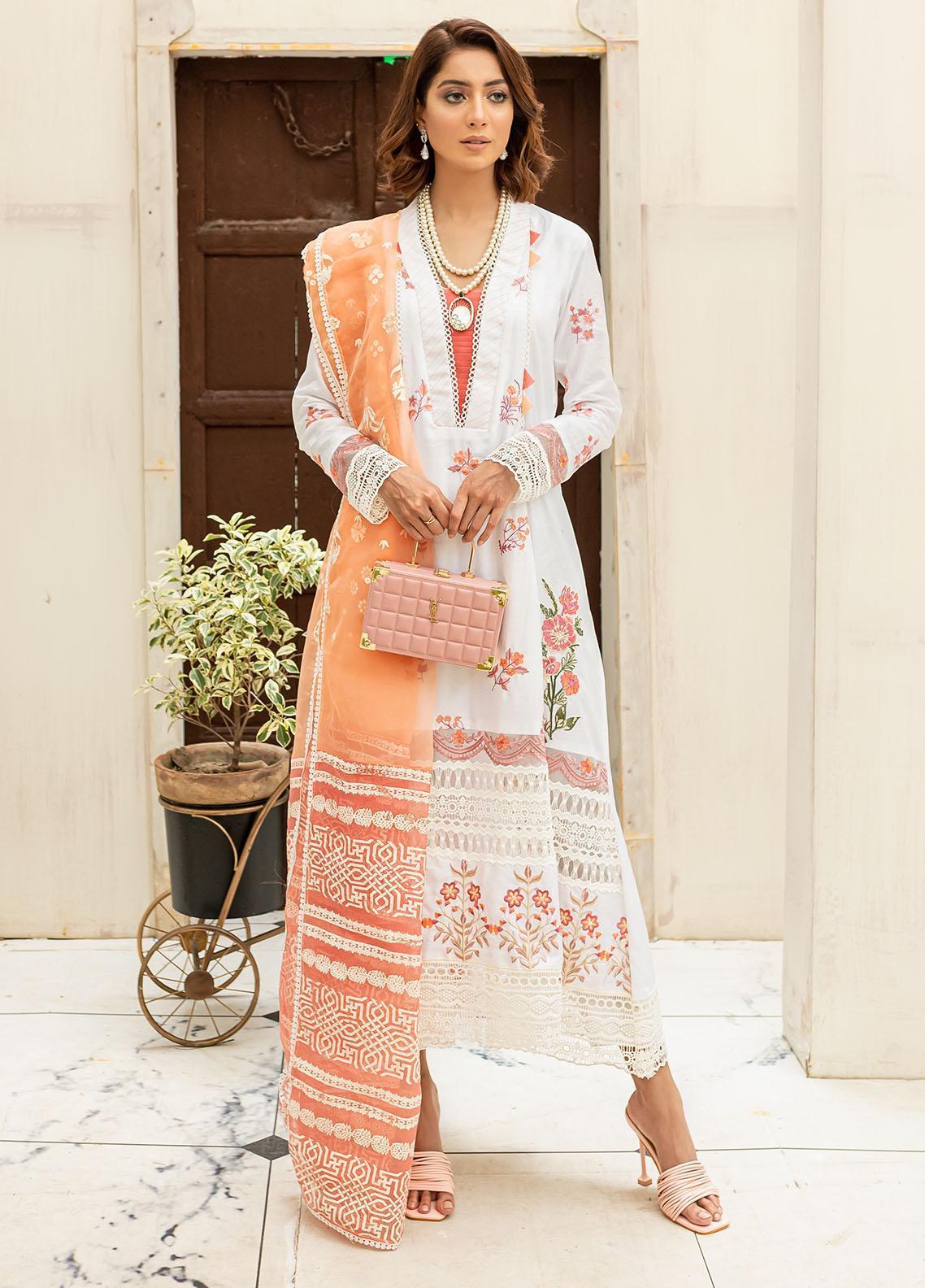 Mehak Yaqoob Pret Formal Lawn 3 Piece Suit MY21M NURTEN