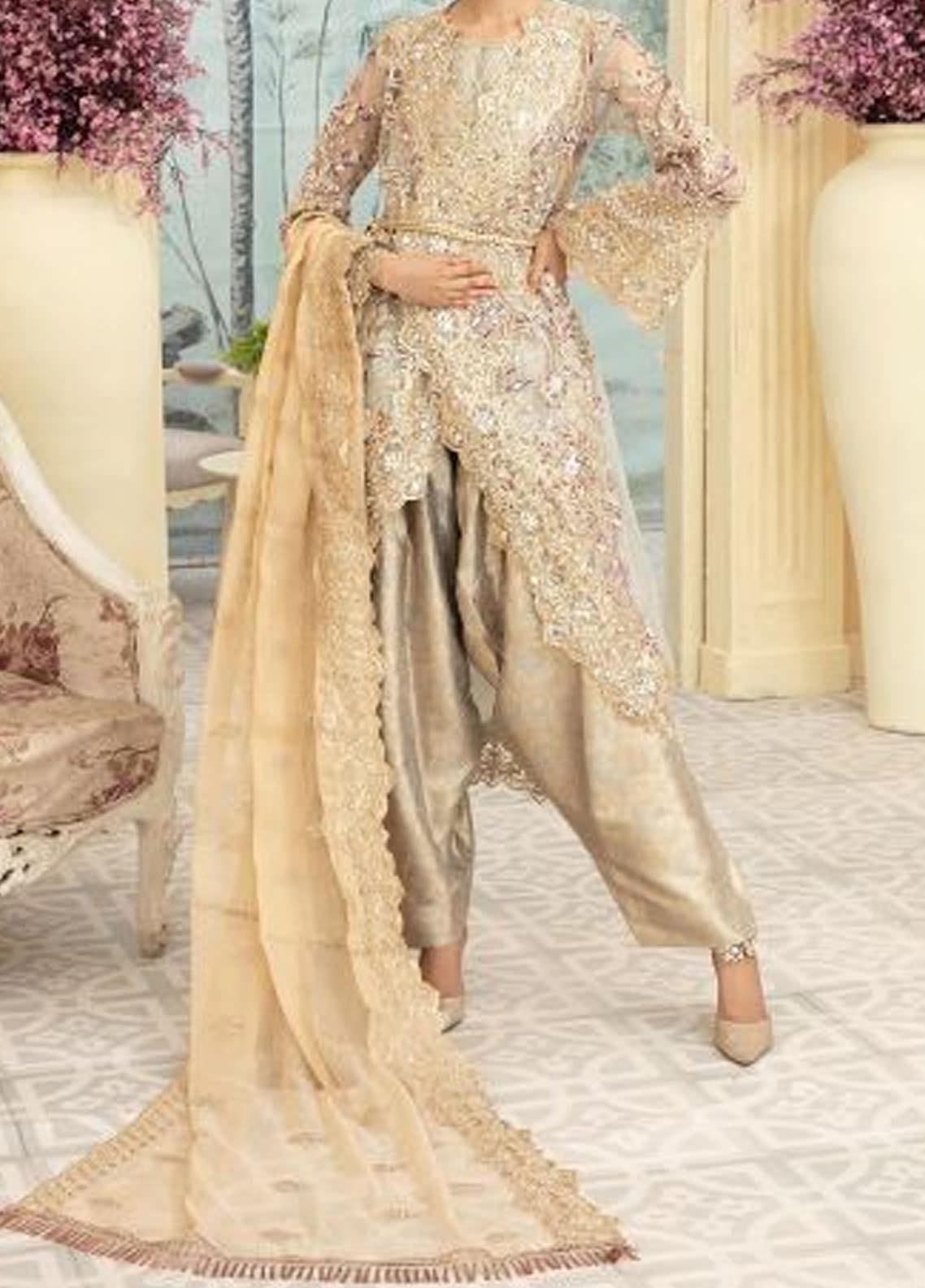 Maryum N Maria Embroidered Missouri Unstitched 3 Piece Suit MNM20C 04 BLATIS GRIJ - Premium Collection