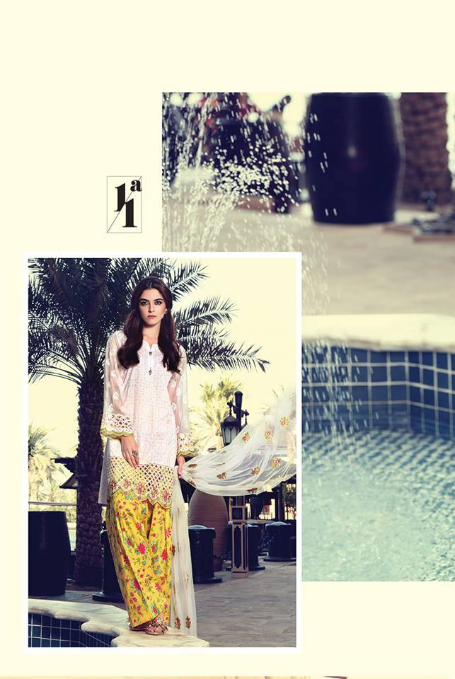 Maria B Embroidered Lawn Unstitched 3 Piece Suit MB17L 11A