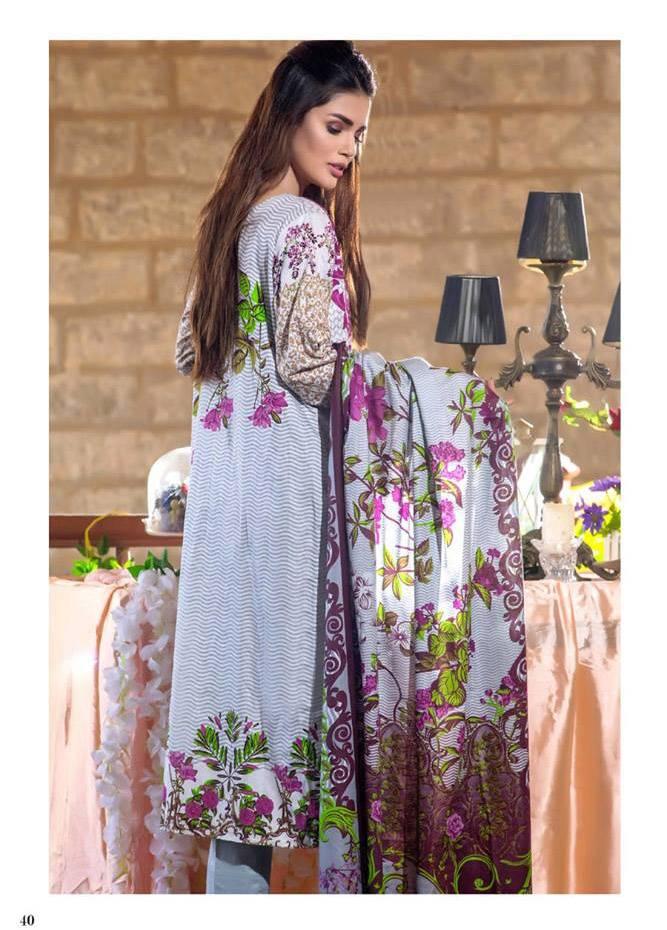 Al Zohaib Printed Cotton Unstitched 3 Piece Suit MF17C 6A