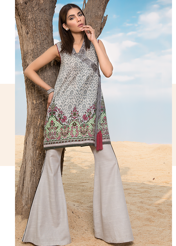 Sapphire Embroidered Khaddar Unstitched 2 Piece Suit SP17W Mosaic Chintz B