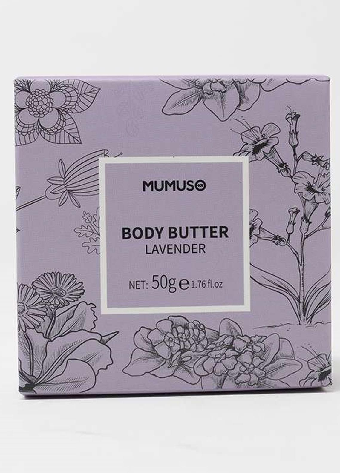 Mumuso Lavender Nourishing Body Butter