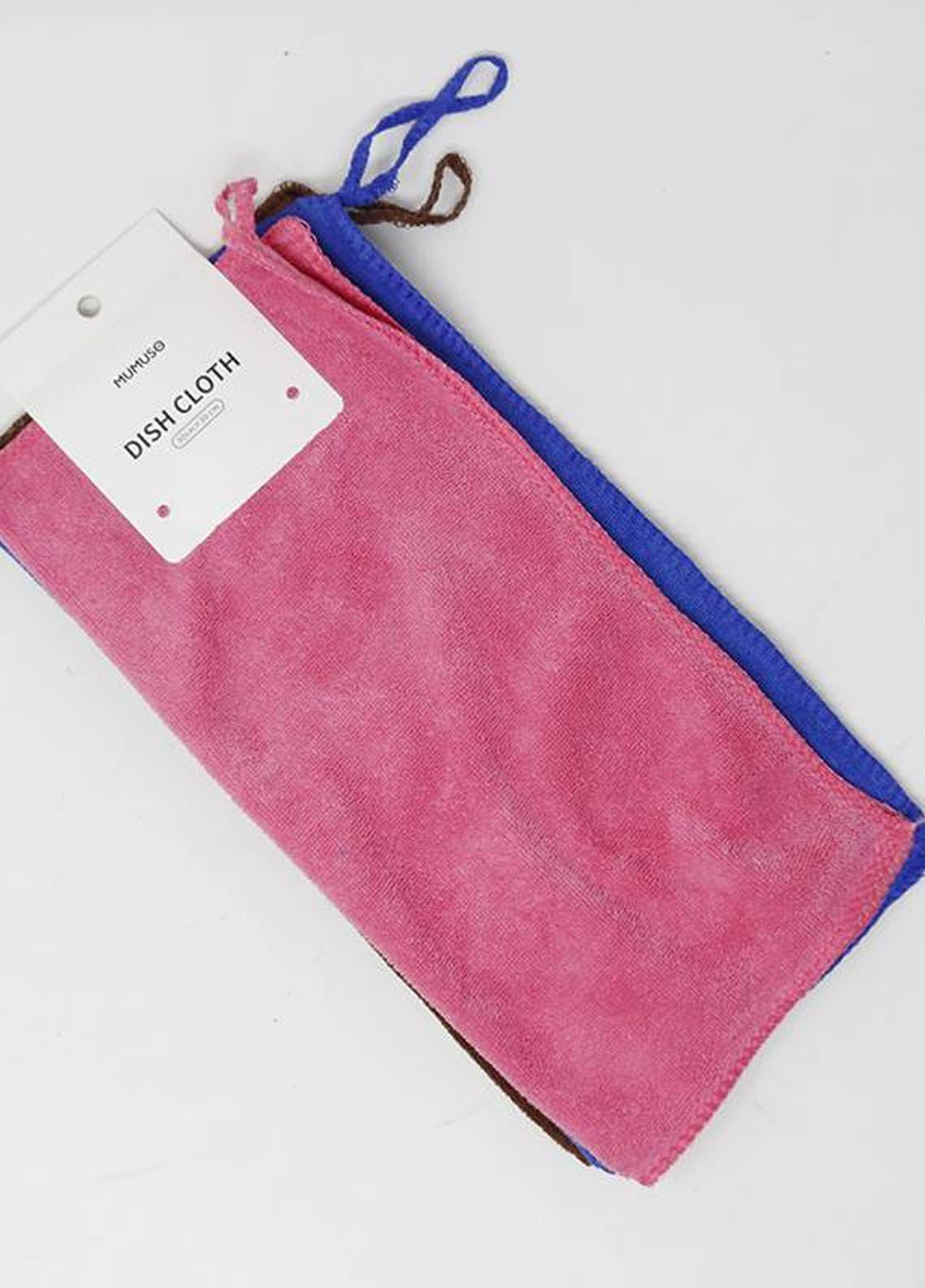 Mumuso MICROFIBER DISH CLOTH SET (3-PACK)
