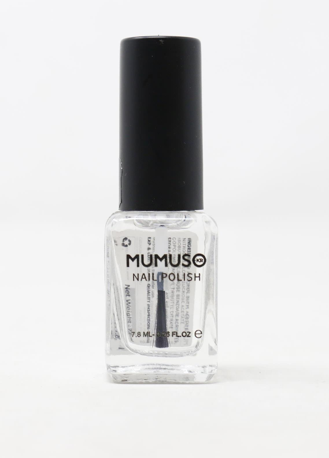 Mumuso MUMUSO NAIL POLISH-TOP COAT