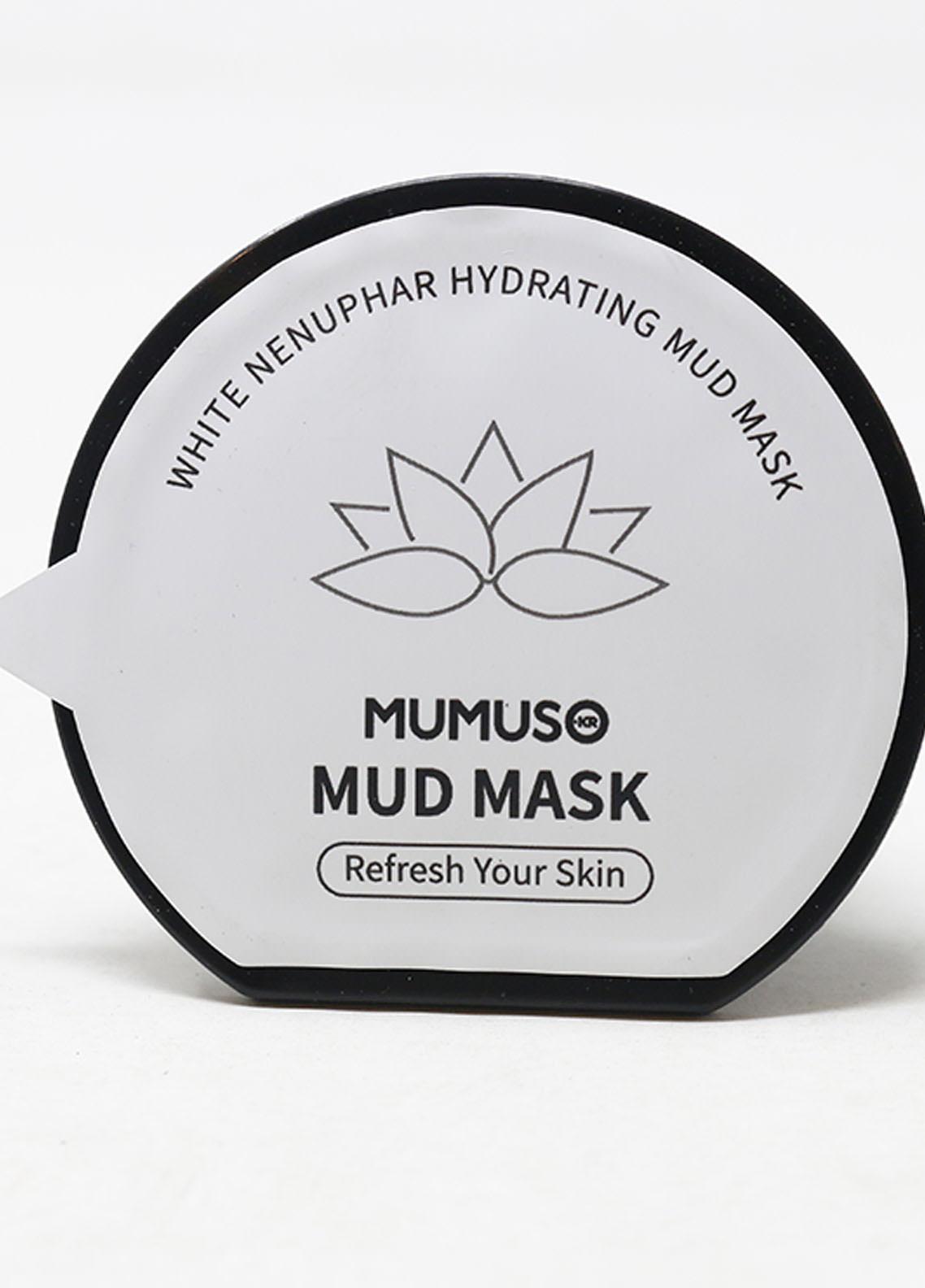 Mumuso White Nenuphar Mud Mask