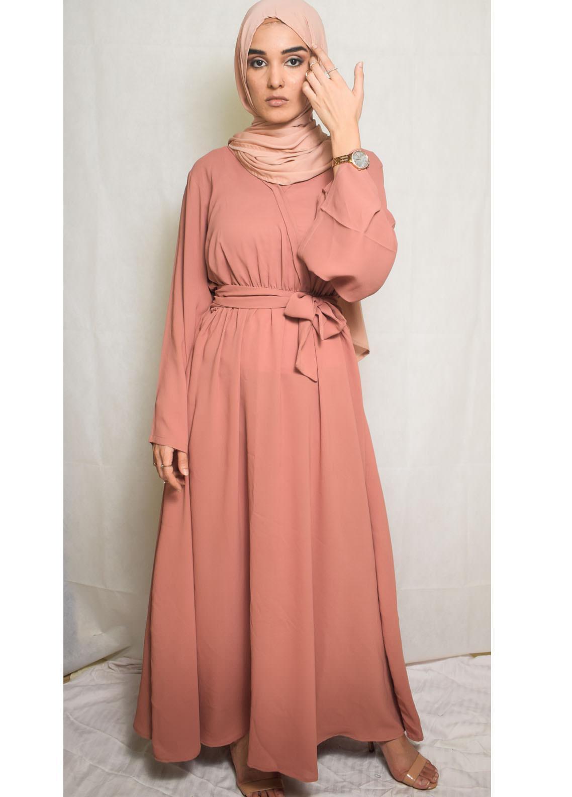 Nida Gul Fancy Georgette Stitched Maxi NG20MD D-304 Sohila Maxi Dress with Hijab