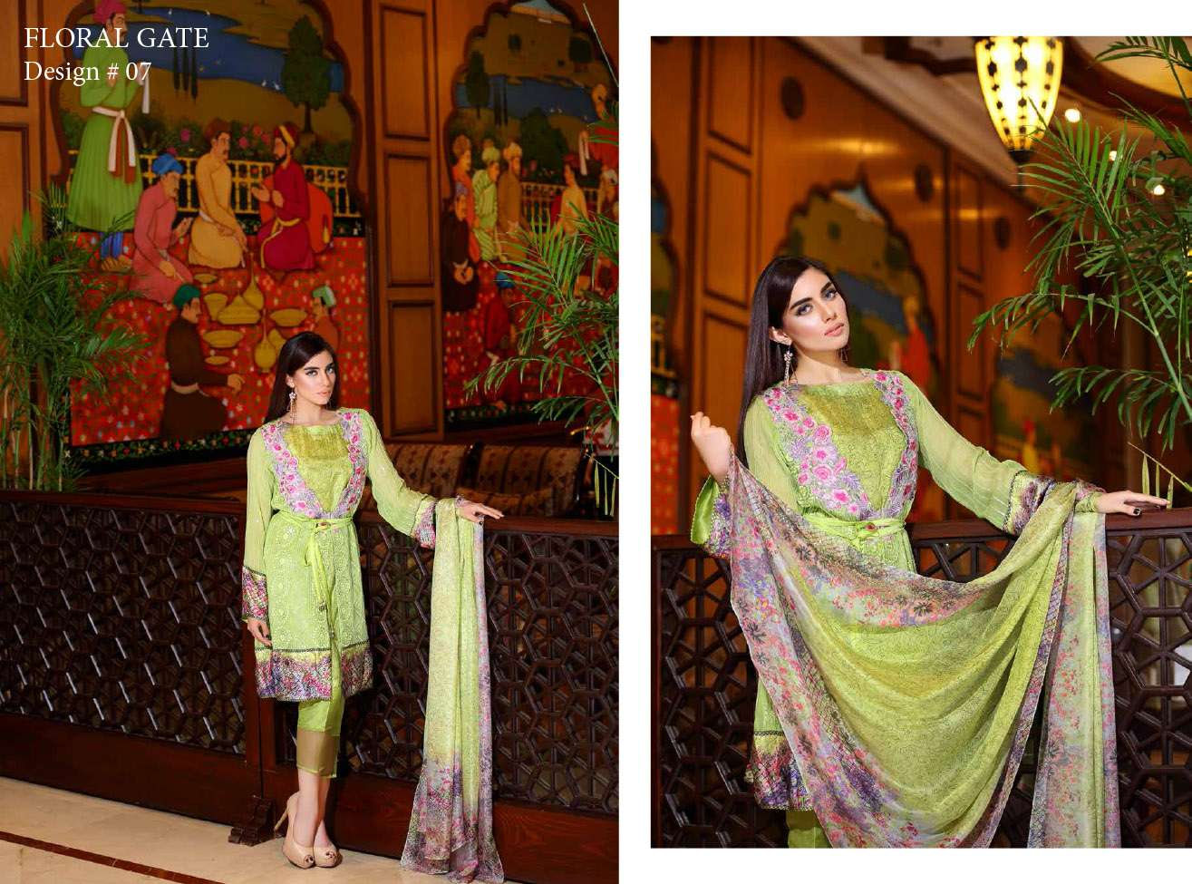 Noor by Saadia Asad Embroidered Chiffon Unstitched 3 Piece Suit NS16E2 07