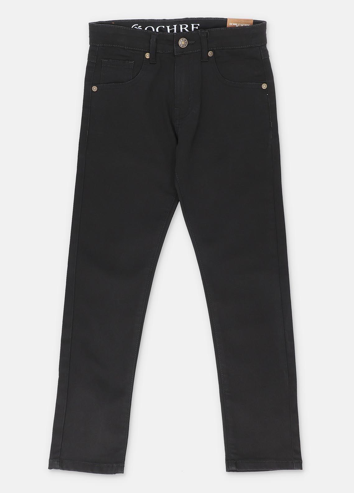 Ochre Denim  Girls Jeans -  ODP-09 Black