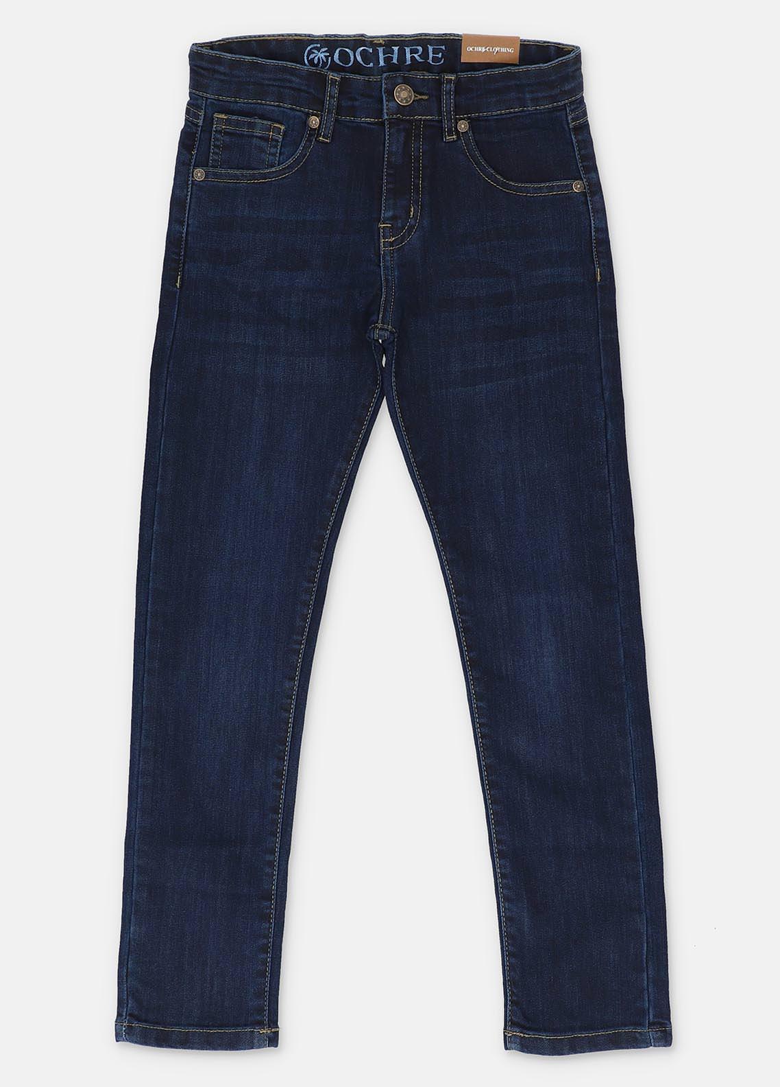 Ochre Denim  Jeans for Girls -  ODP-10 Dark Blue