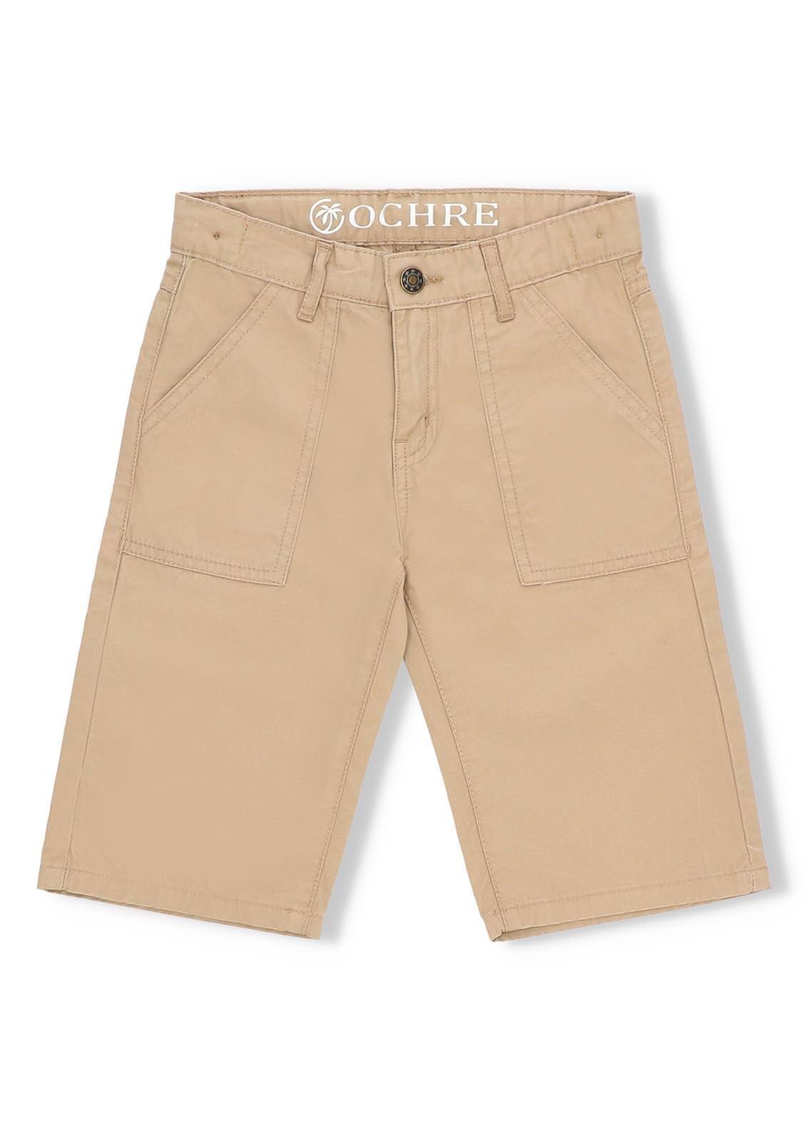 Ochre Denim  Short for Boys -  ODB-15 Beige