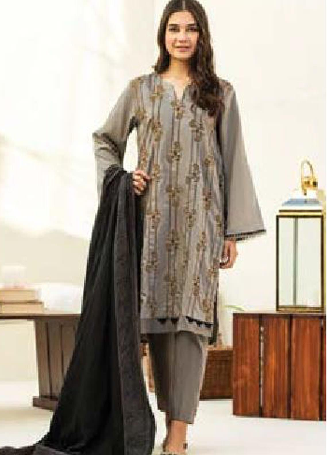 MYSA by Orient Embroidered Cottel Unstitched 3 Piece Suit OT20-MW2 177 A - Winter Collection