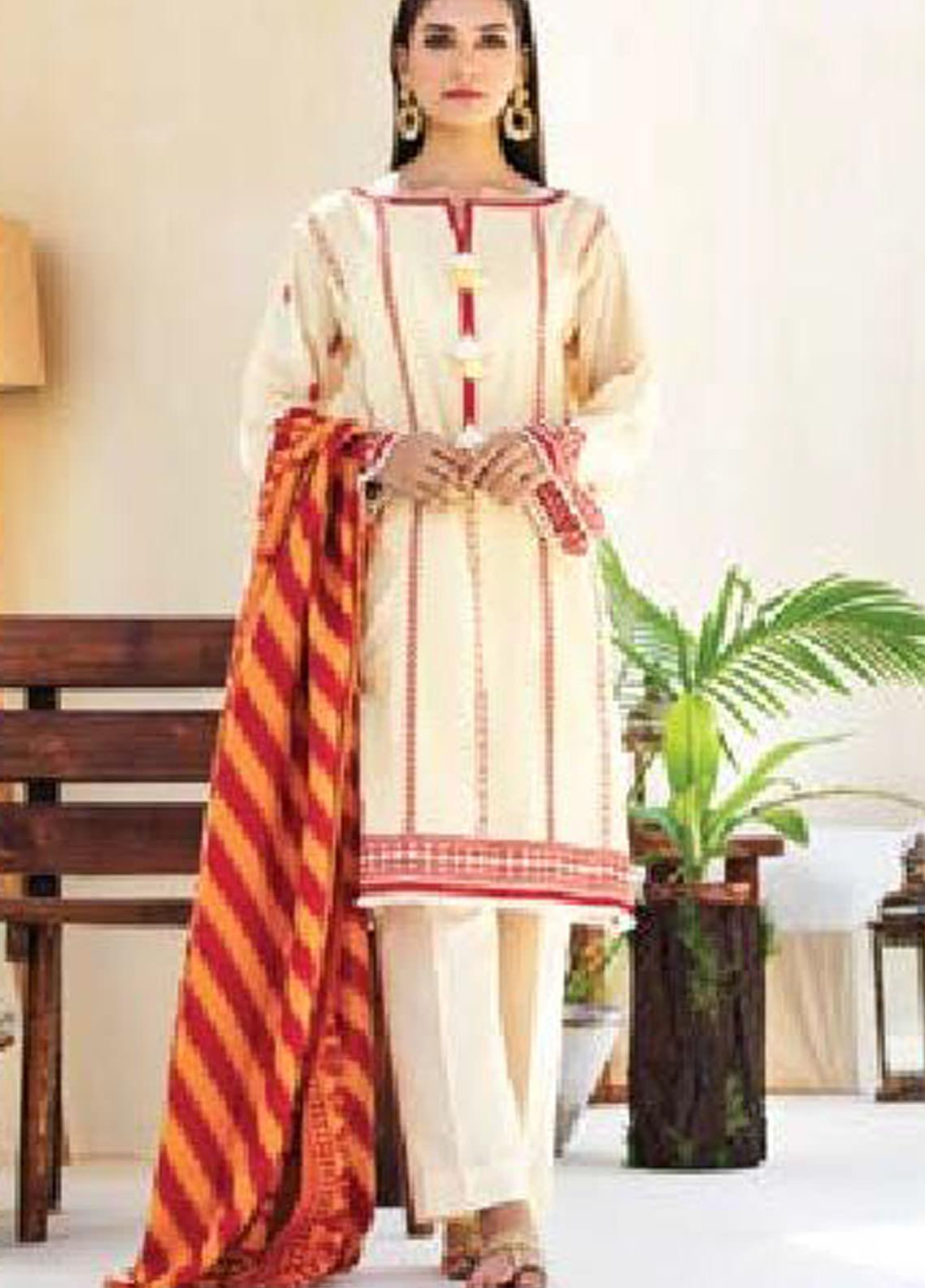 MYSA by Orient Embroidered Karandi Unstitched 3 Piece Suit OT20-MW2 184 A - Winter Collection