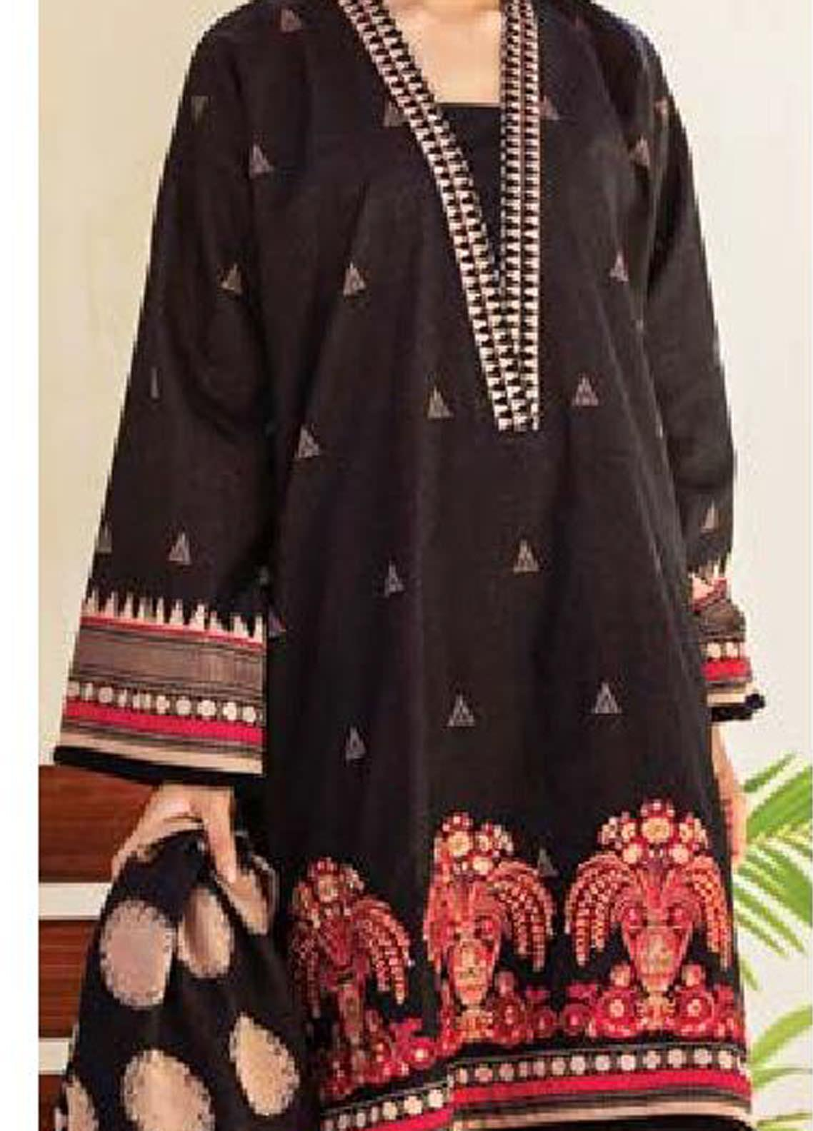 MYSA by Orient Embroidered Karandi Unstitched 3 Piece Suit OT20-MW2 185 A - Winter Collection