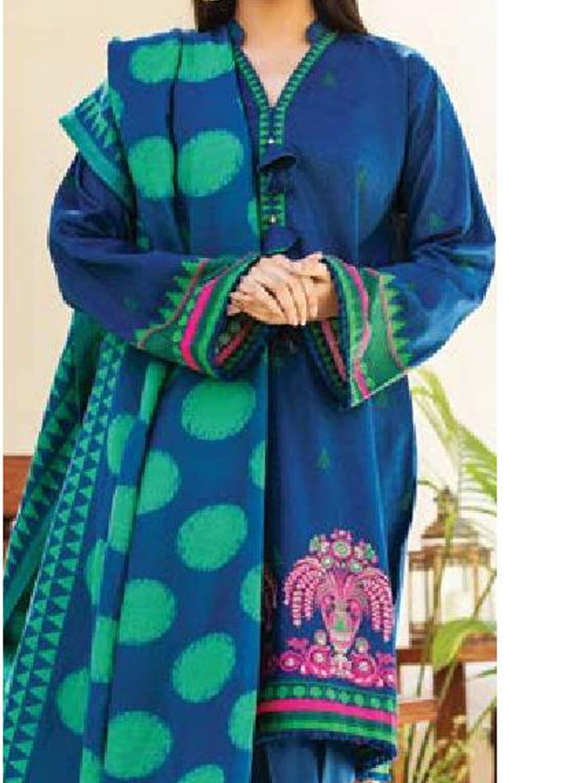 MYSA by Orient Embroidered Karandi Unstitched 3 Piece Suit OT20-MW2 185 B - Winter Collection