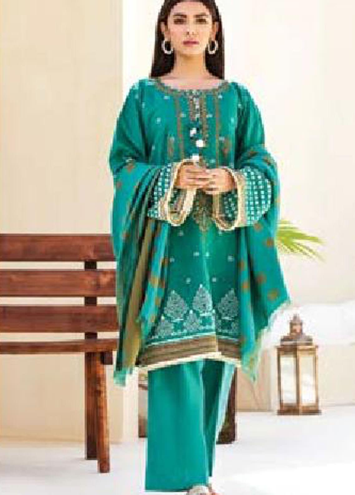 MYSA by Orient Embroidered Karandi Unstitched 3 Piece Suit OT20-MW2 186 B - Winter Collection