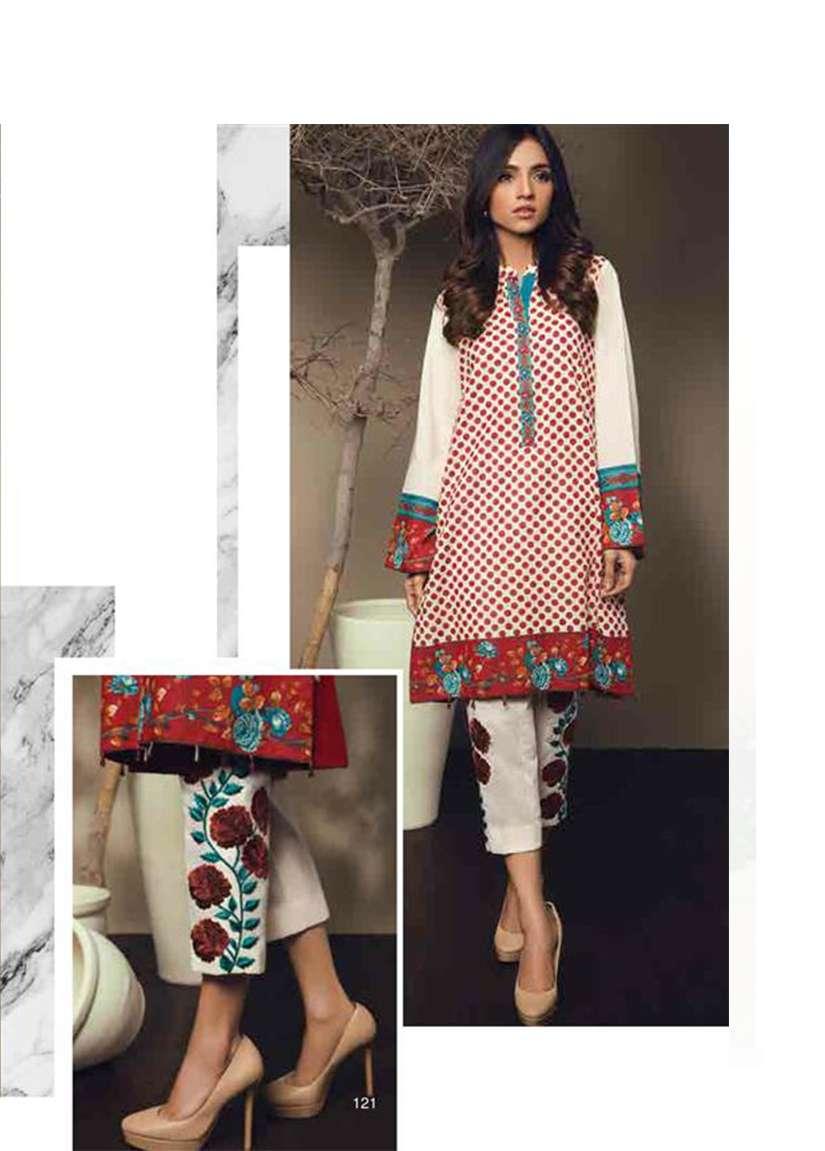 Orient Textile Embroidered Karandi Unstitched 2 Piece Suit OT17W 147A