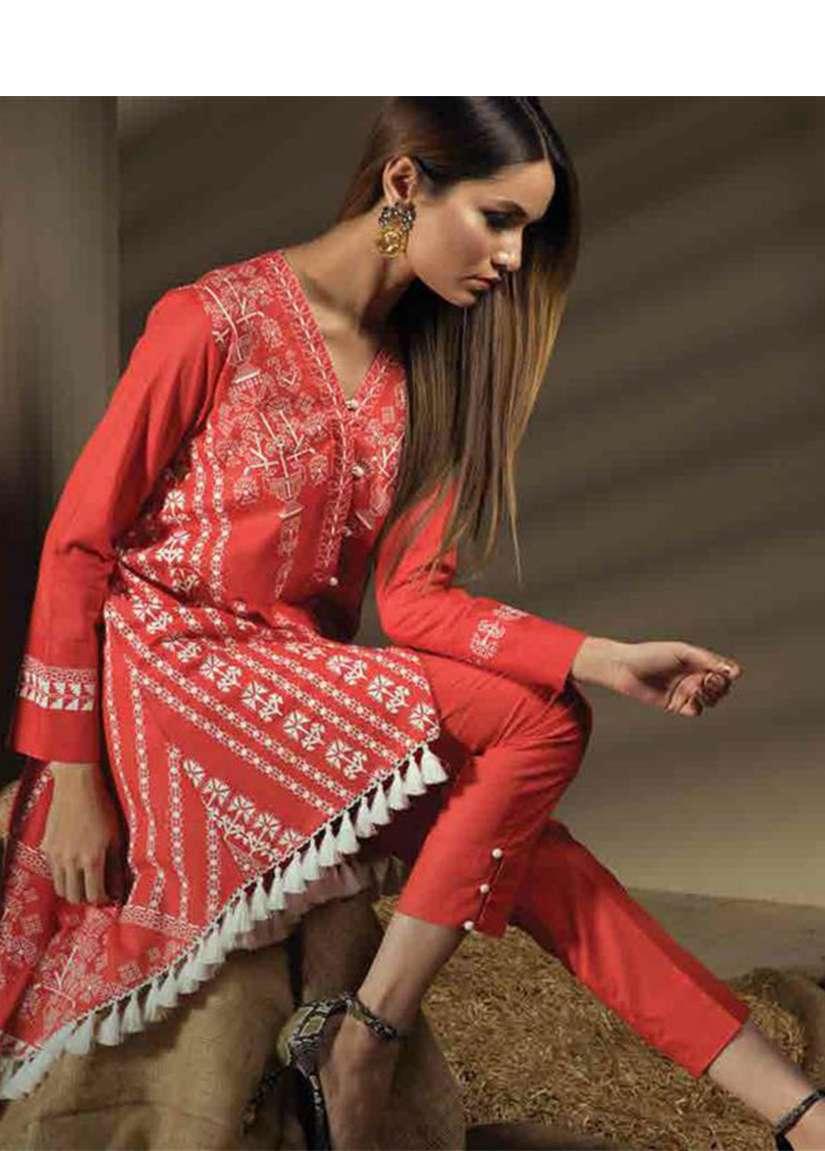 Orient Textile Embroidered Karandi Unstitched 2 Piece Suit OT17W 158A