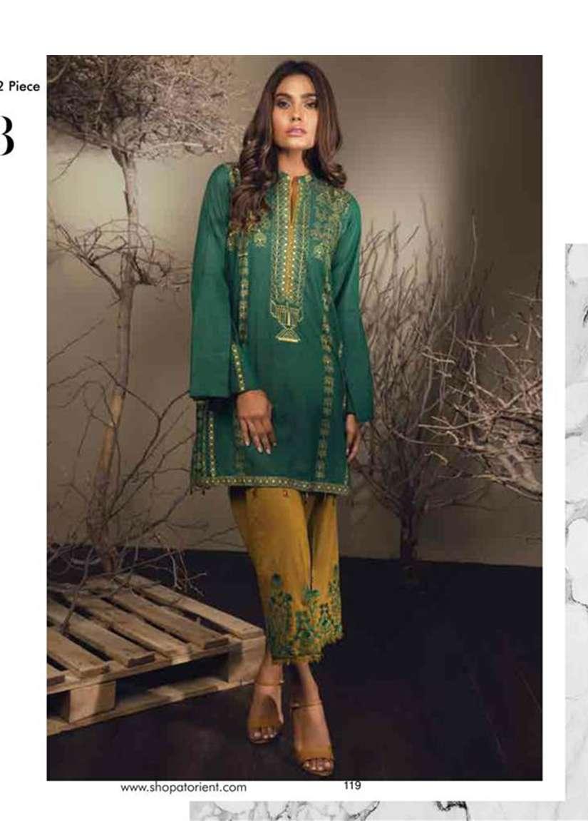 Orient Textile Embroidered Karandi Unstitched 2 Piece Suit OT17W 158B