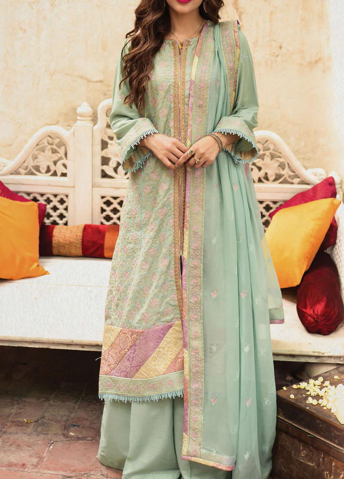 Raaya by Rang Rasiya Embroidered Karandi Unstitched 3 Piece Suit RR20R 327 - Winter Collection