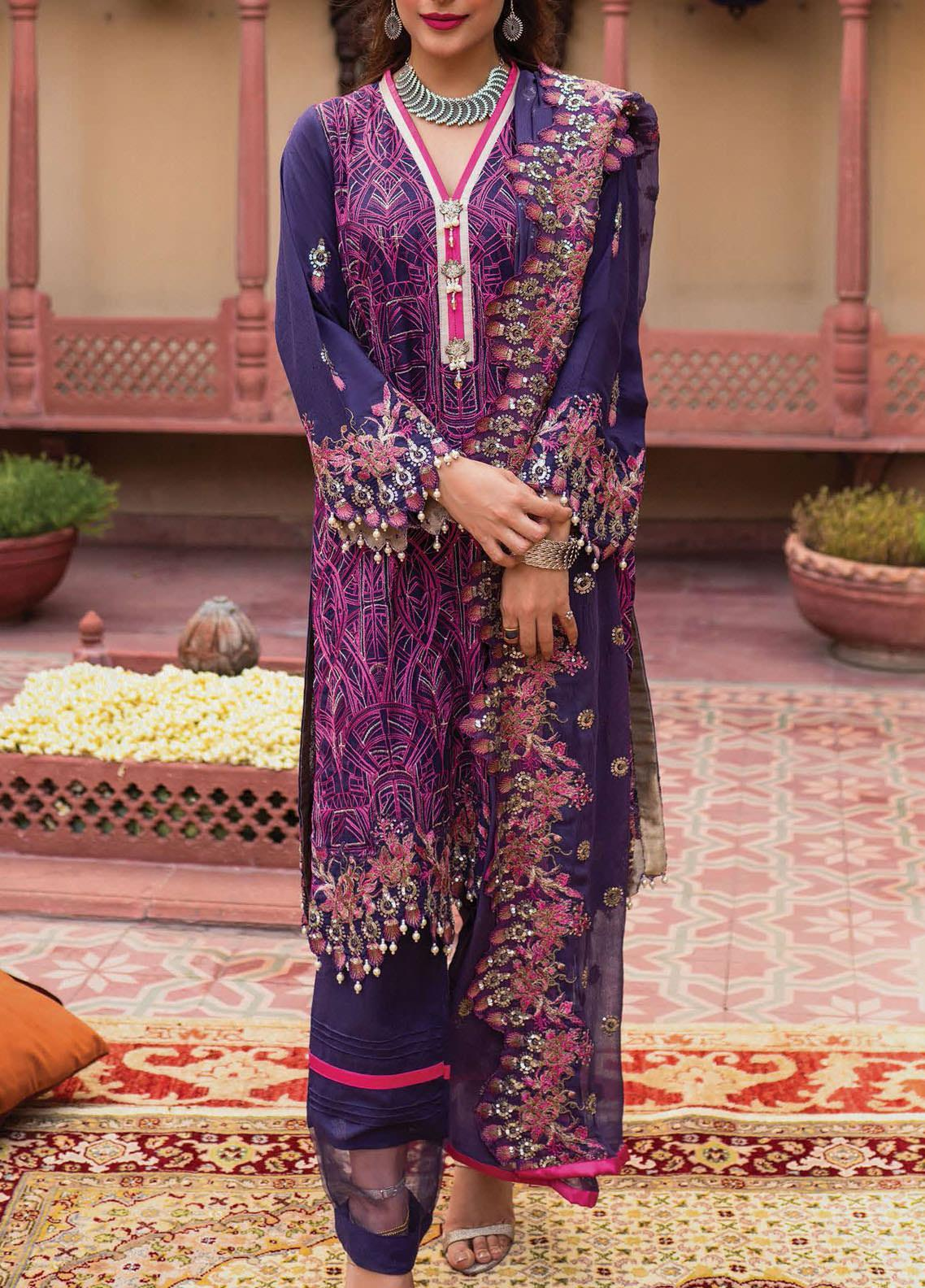Raaya by Rang Rasiya Embroidered Karandi Unstitched 3 Piece Suit RR20R 329 - Winter Collection