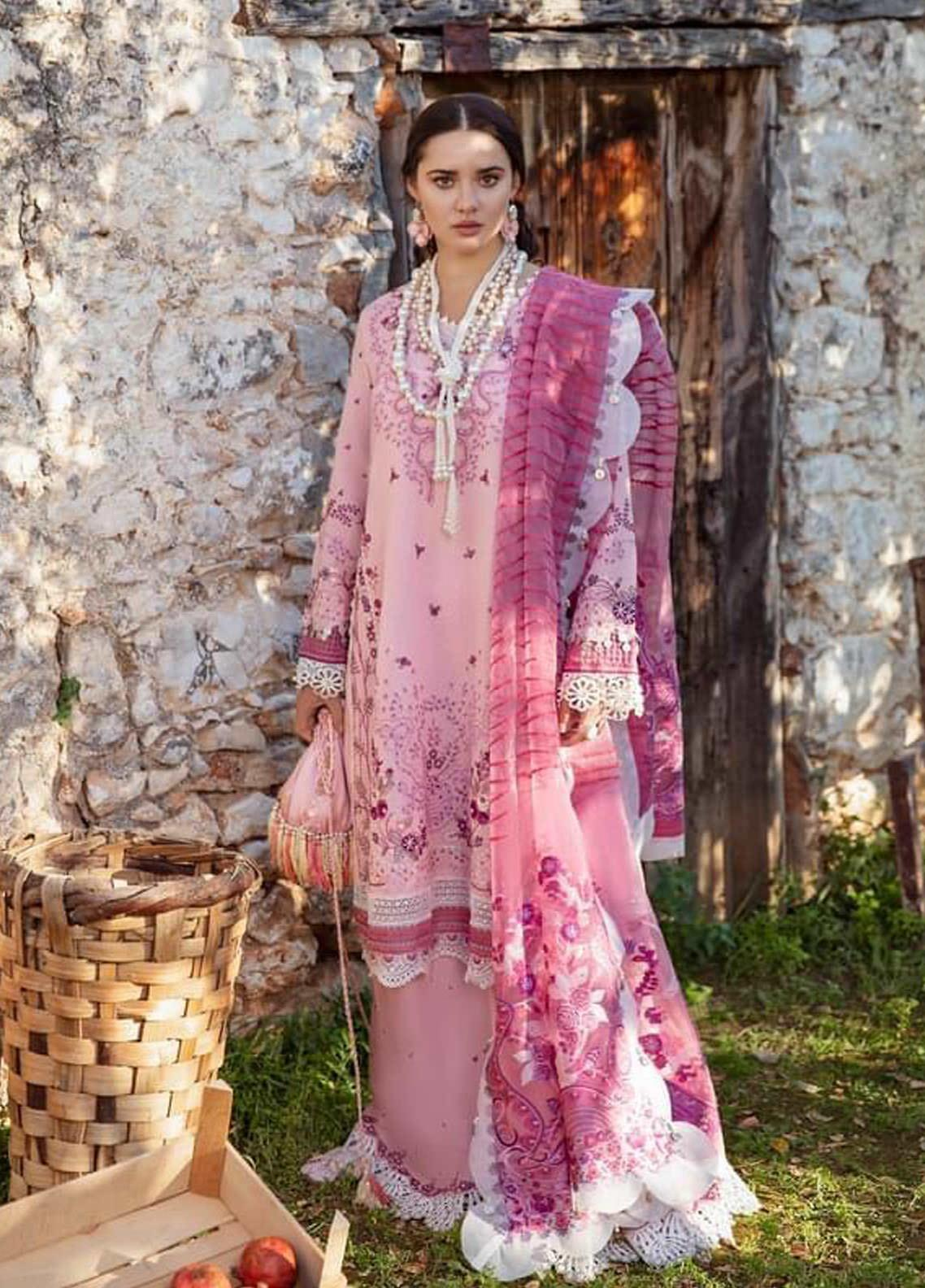 Selene By Republic WomensWear Embroidered Lawn Suits Unstitched 3 Piece RW21S Rinaz A - Luxury Collection