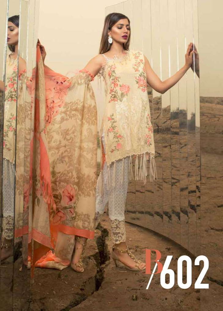 Rang Rasiya Embroidered Linen Unstitched 3 Piece Suit RGR17W2 602B