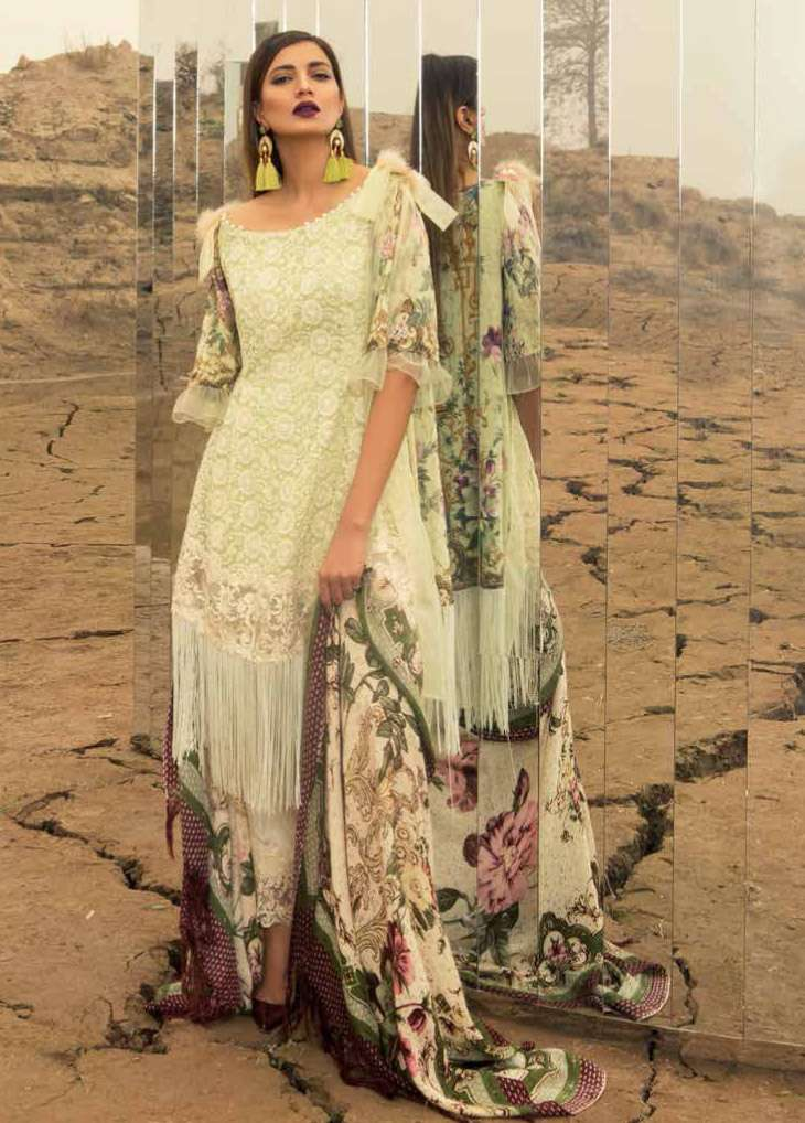 Rang Rasiya Embroidered Linen Unstitched 3 Piece Suit RGR17W2 605A