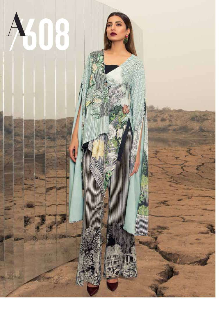 Rang Rasiya Embroidered Linen Unstitched 3 Piece Suit RGR17W2 608A