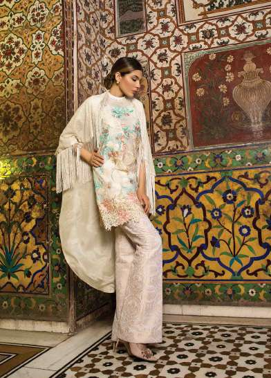 Rungrez Embroidered Silk Unstitched 3 Piece Suit RNG17E2 05