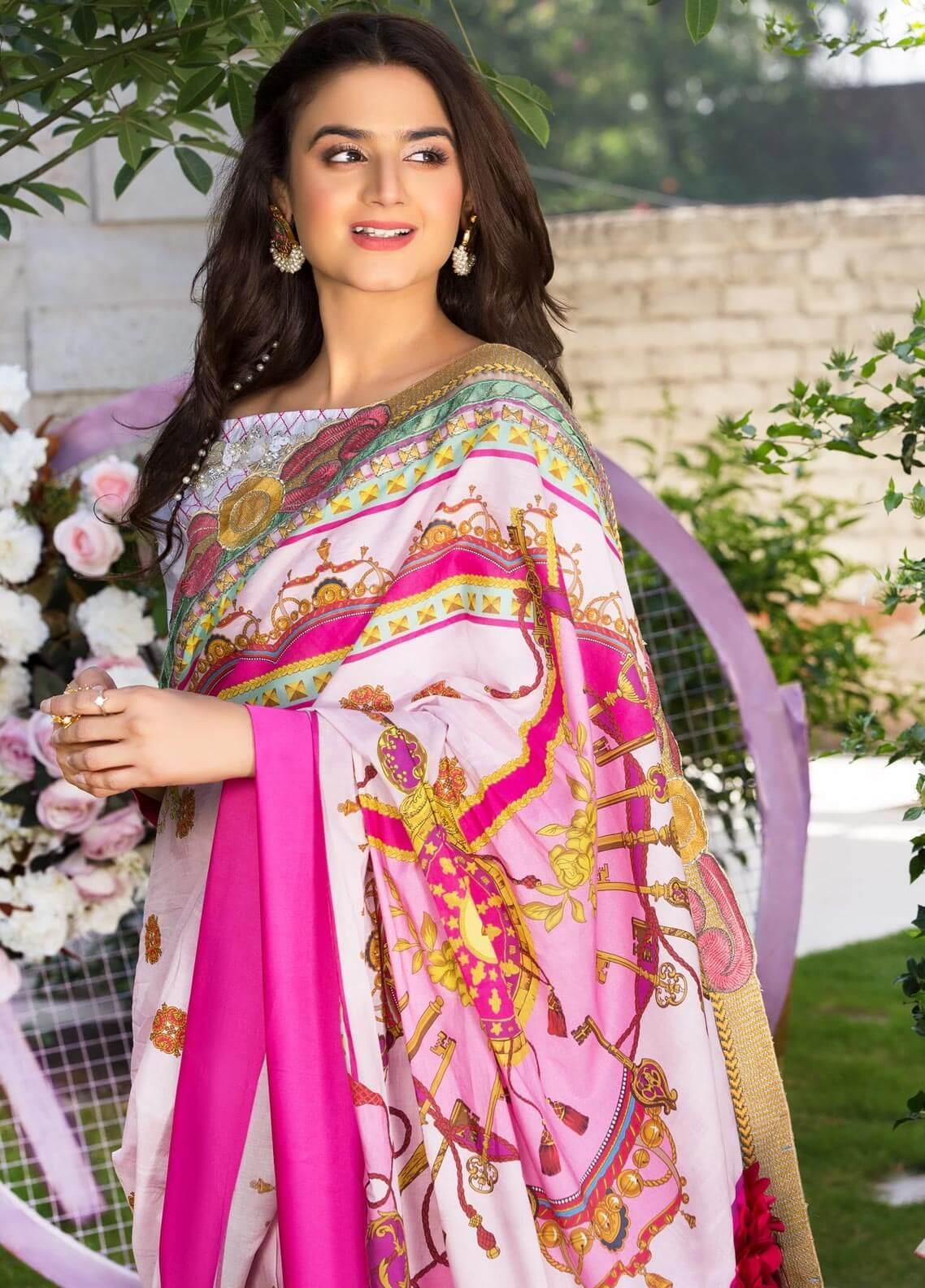 Rungrez Embroidered Jacquard Unstitched Saree RNG19E 08 CLES - Festive Collection