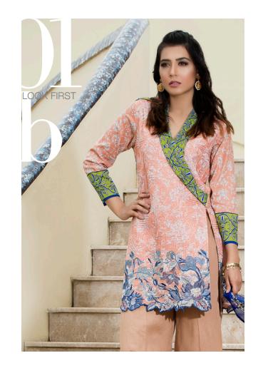 Zohan Textile Embroidered Lawn Unstitched 3 Piece Suit SAZ17L 1B