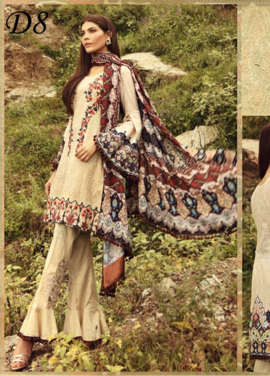 Noor by Saadia Asad Embroidered Khaddar Unstitched 3 Piece Suit SA17W 08